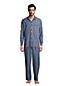 Chambray-Pyjamahemd für Herren