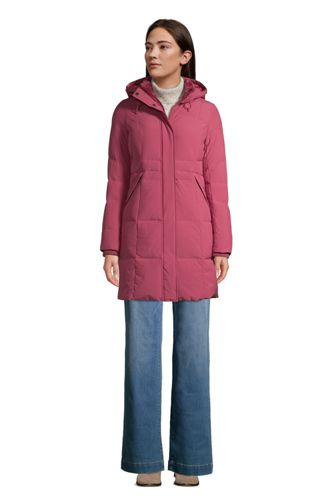 Women's Down Coat with Stretch