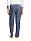Pantalon de Pyjama en Coton Chambray, Homme Stature Standard