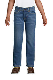 Boys Iron Knee Comfort Denim, Front