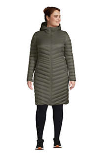 Women's Plus Size Ultralight Packable Down Coat With Hood, alternative image