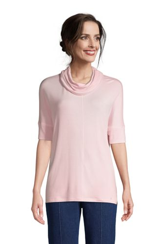 Women's Super Soft Cowl Neck Pullover Top