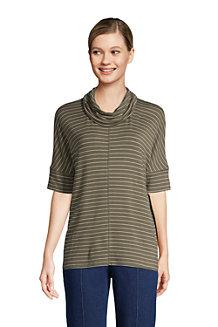 Women's Super Soft Cowl Neck Pullover Top
