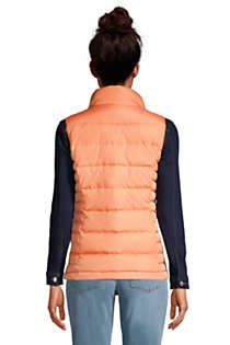 Women's Down Winter Puffer Vest, Back