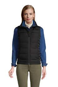 Women's Petite Down Winter Puffer Vest