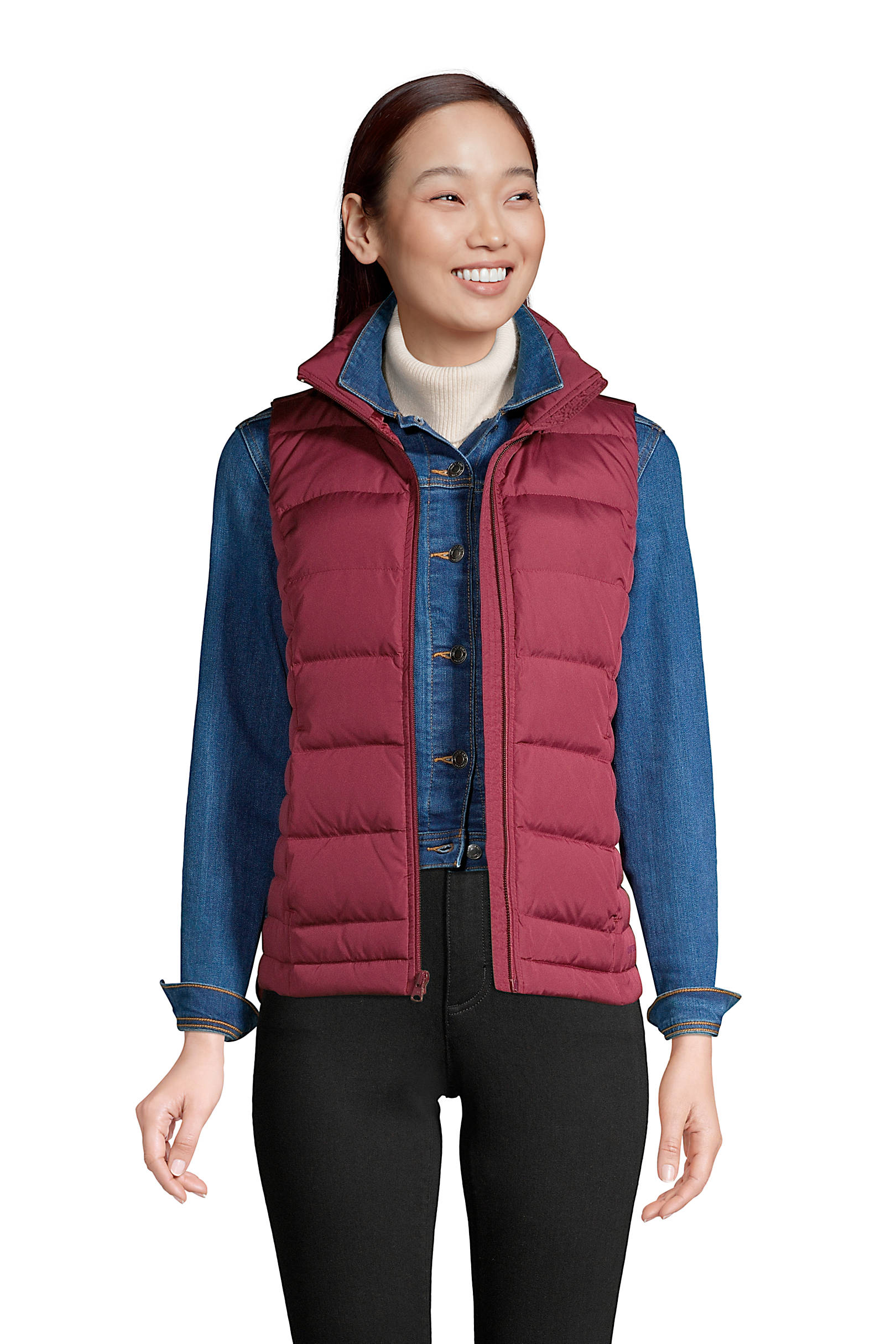 Women's Down Winter Puffer Vest $19.98