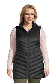 Women's Plus Size Ultralight Packable Down Vest