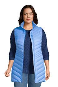 Women's Plus Size Ultralight Packable Down Vest