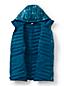 Veste en Duvet 800 Ultralégère Compressible à Capuche Imprimée, Femme Grande Taille