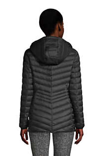 Women's Tall Ultralight Packable Down Jacket with Hood, Back