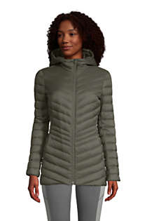Women's Ultralight Packable Down Jacket with Hood, Front