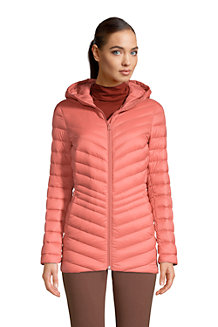 Women's Ultra Light Packable Down Jacket with Hood