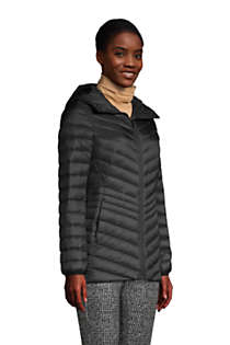 Women's Tall Ultralight Packable Down Jacket with Hood, alternative image