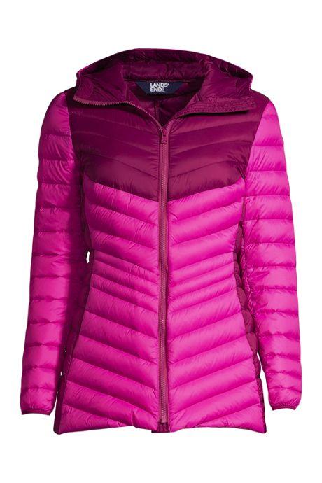 Women's Ultralight Packable Down Jacket with Hood