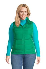Women's Plus Size Down Winter Puffer Vest