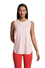 Women's Moisture Wicking UPF Sun Crewneck Tunic Tank Top