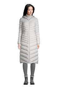 Women's Ultralight Maxi Long Down Coat with Hood