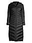 Women's Petite Ultralight Hooded Maxi Long Down Coat