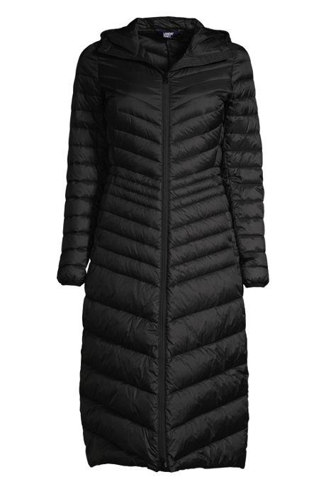 Women's Ultralight Maxi Long Down Coat with Hood