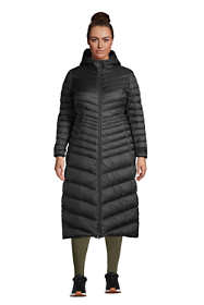 Women's Plus Size Ultralight Maxi Long Down Coat with Hood