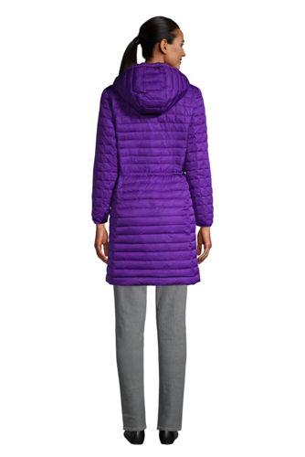 Women's Petite Fleece Lined Insulated Winter Coat with Hood