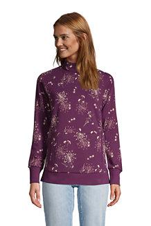Sweatshirt Serious Sweats Col Cheminée, Femme
