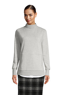 Women's Serious Sweats Funnel Neck Sweatshirt