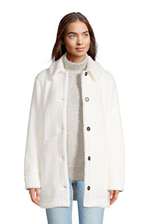 Women's Cosy Sherpa Fleece Teddy Coat
