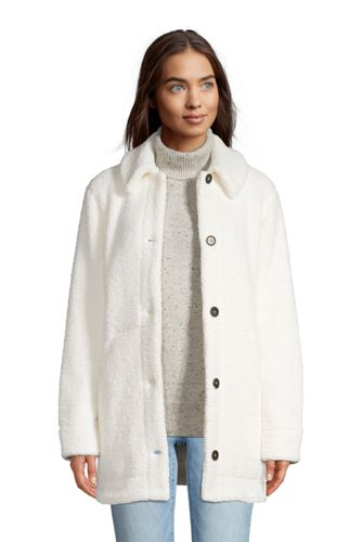 Women's Cosy Sherpa Fleece Teddy Coat