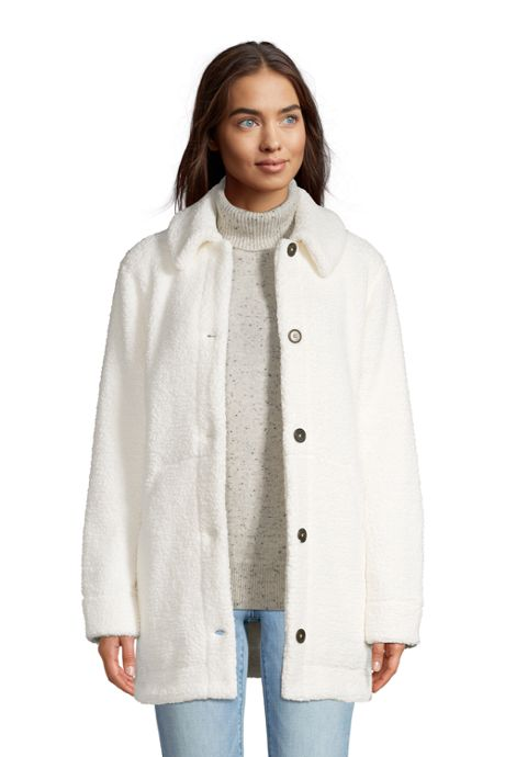 Women's Cozy Sherpa Fleece Teddy Coat