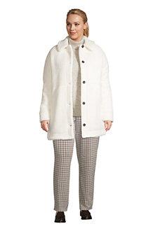 Mantel aus Teddyfleece für Damen
