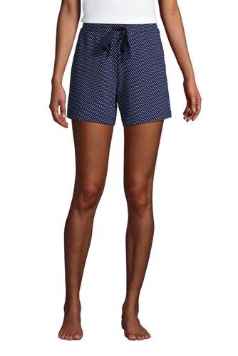 Short de Pyjama en Jersey Stretch, Femme Stature Standard