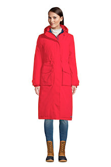 Women's Squall Insulated Waterproof Stadium Long Winter Coat with Hood US