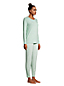 Women's Long Sleeve Jersey Slim Leg Pyjamas