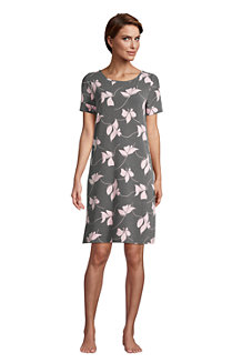 Women's Short Sleeve Stretch Jersey Nightdress