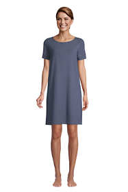 Women's Lounge Knit T-shirt Pajama Dress