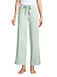 Women's Jersey Wide Leg Cropped Pyjamas Bottoms