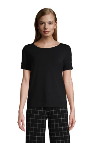 Women's Plus Short Sleeve Jersey Sleep Tee