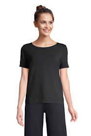 Women's Lounge Short Sleeve Crewneck Pajama T-shirt