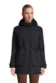 Women's Petite Squall Insulated Waterproof Winter Parka Coat with Hood