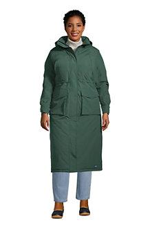 Women's Squall  Waterproof Hooded Stadium Long Coat