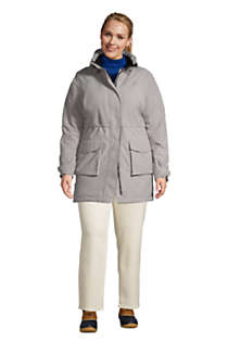 Women's Plus Size Squall Insulated Waterproof Winter Parka Coat with Hood, alternative image