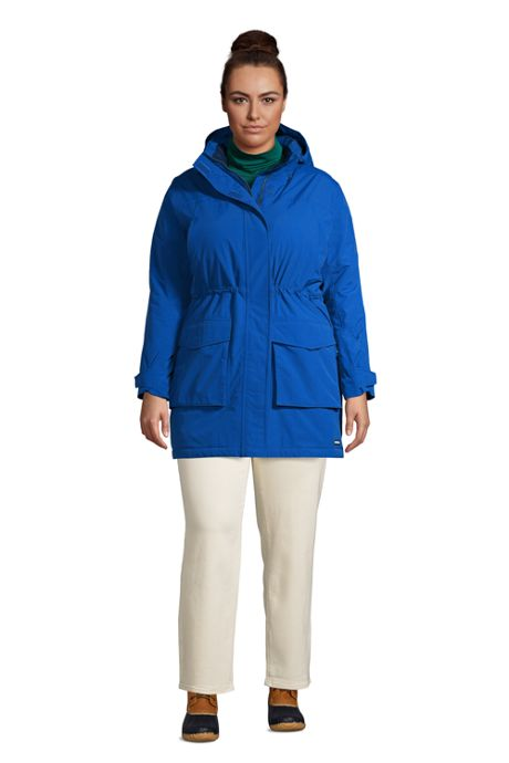 Women's Plus Size Petite Squall Insulated Waterproof Winter Parka Coat with Hood