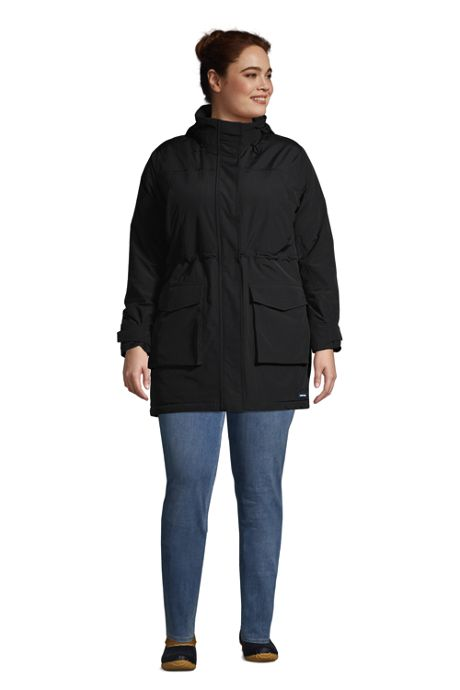 Women's Plus Size Squall Insulated Waterproof Winter Parka Coat with Hood