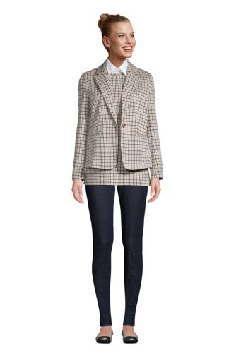 Blazer Sport Knit Jacquard, Femme Stature Standard