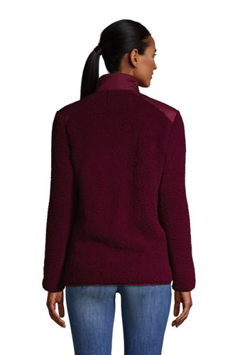 Women's Cozy Sherpa Fleece Jacket