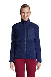 Women's Cosy Sherpa Fleece Jacket