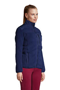 Women's Cozy Sherpa Fleece Jacket, alternative image