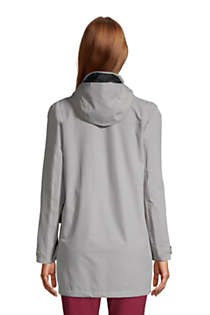 Women's Squall Waterproof Raincoat with Hood, Back