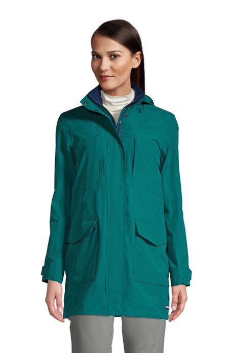 Women's Tall Squall Waterproof Raincoat with Hood